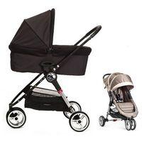 Wózki wielofunkcyjne, Baby Jogger City Mini+gondola+GRATIS