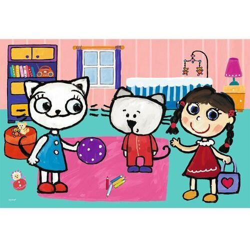 Puzzle, Puzzle 60 Kicia Kocia z przyjaciółmi TREFL