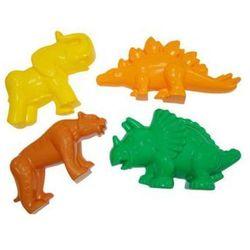 Polesie 36568 Foremki 3szt (tygrys, mamut, dinozaur)