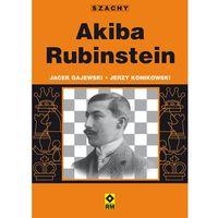 Hobby i poradniki, Akiba Rubinstein - Gajewski Jacek, Konikowski Jerzy (opr. miękka)