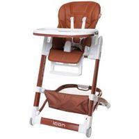 Krzesełka do karmienia, 4Baby krzesełko do karmienia Icon brown - BEZPŁATNY ODBIÓR: WROCŁAW!