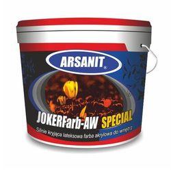 Farba akrylowa lateksowa wewnętrzna ARSANIT JOKERFarb–AW SPECIAL biała 10L