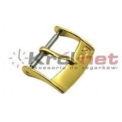Sprzączka / klamerka żółta - 10, 12, 14, 16, 18, 20 mm, polerowana