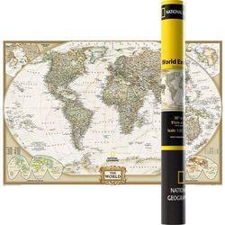 Mapa Ścienna Polityczna Świat 1:37 215 000