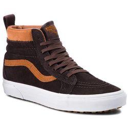 Sneakersy VANS - Sk8-Hi Mte VN0A33TXUCA (Mte) Suede/Chocolate Tor