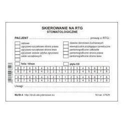 Skierowanie na RTG stomatologiczne [Mz/St-4]