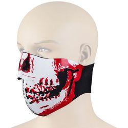 Uniwersalna maska na motor W-TEC NF-7850, Czerwony