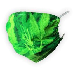 Maska ochronna - soczysta zieleń