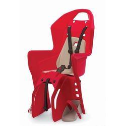 Fotelik rowerowy na bagażnik Polisport Koolah RMS - czerwono/kremowy