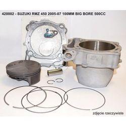 VERTEX 420002 CYLINDER KPL. SUZUKI RMZ 450 '05-'07 100MM BIG BORE 500CCM (+4,50MM)
