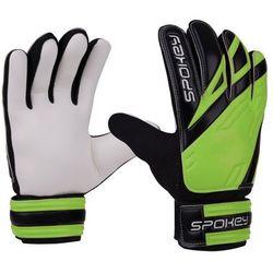 Rękawice bramkarskie SPOKEY Hold (rozmiar 6) Czarno-biało-zielony