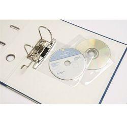 Kieszonki na płyty CD z możliwością wpięcia do segregatora Argo, 5 sztuk, 422045