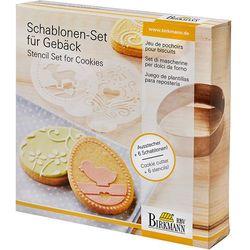 Szablony do dekoracji ciasteczek wielkanoc Birkmann ZAMÓW PRZEZ TELEFON 514 003 430