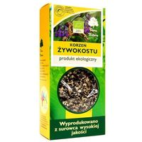 Herbaty ziołowe, ŻYWOKOST KORZEŃ BIO 100 g - DARY NATURY