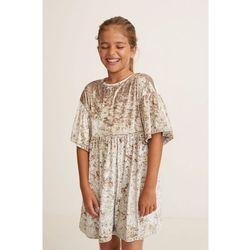 Mango Kids - Sukienka dziecięca Isabel 110-164 cm