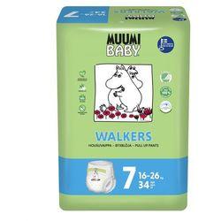 Eko Pieluchomajtki Jednorazowe Walkers XL, (16-26 kg), 34 szt, MUUMI