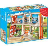 Klocki dla dzieci, Playmobil CITY LIFE Szpital dziecięcy z wyposażeniem 6657