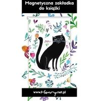 Pozostałe artykuły szkolne, Zakładka magnetyczna - Kot Czarny