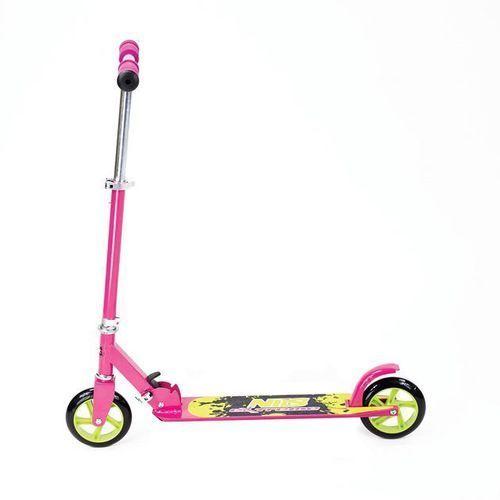 Hulajnogi, Hulajnoga aluminiowa QD145 NILS - Różowy