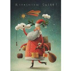 Kartka Boże Narodzenie. Mikołaj. B6 - Henry OD 24,99zł DARMOWA DOSTAWA KIOSK RUCHU
