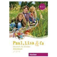 Książki do nauki języka, Paul, Lisa & Co A1/1 AB HUEBER -. (opr. broszurowa)