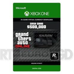 Grand Theft Auto V - Karta Gotówkowa Bull Shark [kod aktywacyjny] Xbox One