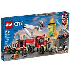 Lego CITY Strażacka jednoel. dowodzenia fire command unit 60282