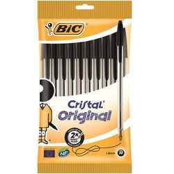 Długopis Cristal Original Czarny 10 sztuk
