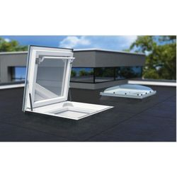 Okno wyłazowe do płaskiego dachu Fakro DRC-C P2 120x120
