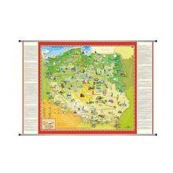 Polska mapa ścienna dla dzieci ArtGlob. Darmowy odbiór w niemal 100 księgarniach!