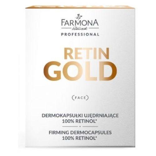 Pozostała pielęgnacja, Farmona RETIN GOLD Dermokapsułki ujędrniające 100% retinol