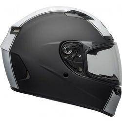 Bell kask integralny qualifier rally matte bl/whi