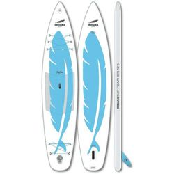Indiana SUP 12'6 Feather Inflatable SUP Board, biały/niebieski 2021 Deski SUP
