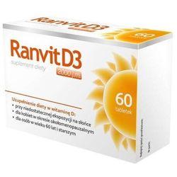 Ranvit d3 2000j.m x 60 tabletek