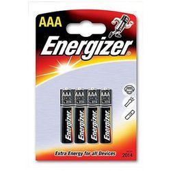 Baterie alkaliczne 1,5V Energizer AAA LR03 - 4szt.