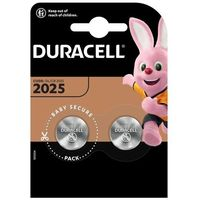 Baterie, 2 x bateria litowa mini Duracell CR2025 DL2025 ECR2025