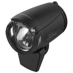 Lampa przednia /dymano/ KROSS DYNLIGHT 30, na widelec, 135lm, AUTO podtrz., czarna