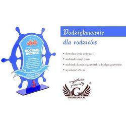 Trofeum akrylowe - Podziękowanie dla rodziców, rocznica - model DTA28