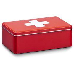 Metalowa apteczka, pudełko medyczne, 20x13x7 cm, ZELLER