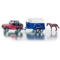 Jeep z przyczepą na konie/1651/SIKU