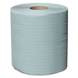 Ręcznik papierowy w roli Merida Klasik Maxi, 1 warstwa, 180 m, makulatura zielona - 6 rolek