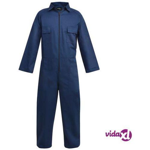 Kombinezony i spodnie robocze, vidaXL Męski kombinezon roboczy, rozmiar M, niebieski
