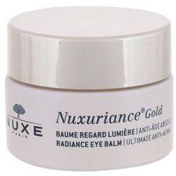 NUXE Nuxuriance Gold Radiance Eye Balm żel pod oczy 15 ml dla kobiet