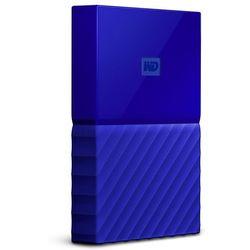"""WD My Passport 1TB 2,5"""" USB 3.0 (niebieski) - produkt w magazynie - szybka wysyłka!"""