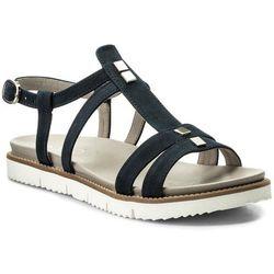 Sandały EDEO - 3155-826 Granat