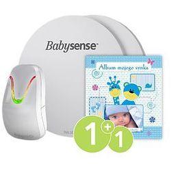 Monitor oddechu dla niemowląt BABYSENSE 7 + Album Twojego synka