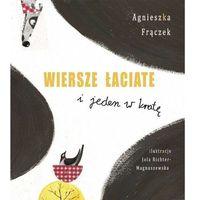 Książki dla dzieci, Wiersze łaciate i jeden w kratę (opr. twarda)