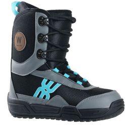 Westige dziecięce buty snowboardowe Bufo black/gray/blue 34 - BEZPŁATNY ODBIÓR: WROCŁAW!