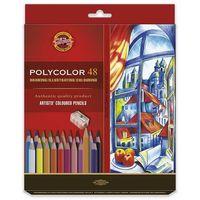 Kredki, Kredki ołówkowe polycolor koh-i-noor 3836 48 kolory