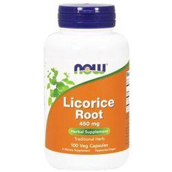 Licorice Root (Korzeń Lukrecji) 450mg 100 kaps.